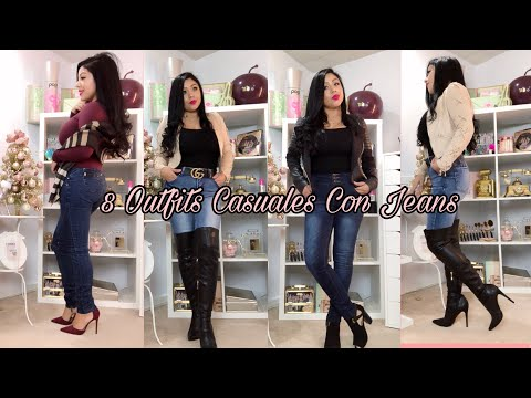 d2a80fe675 8 Outfits Casuales Con Jeans 👖Como combinar tus jeans  Fatory-Fashion.com