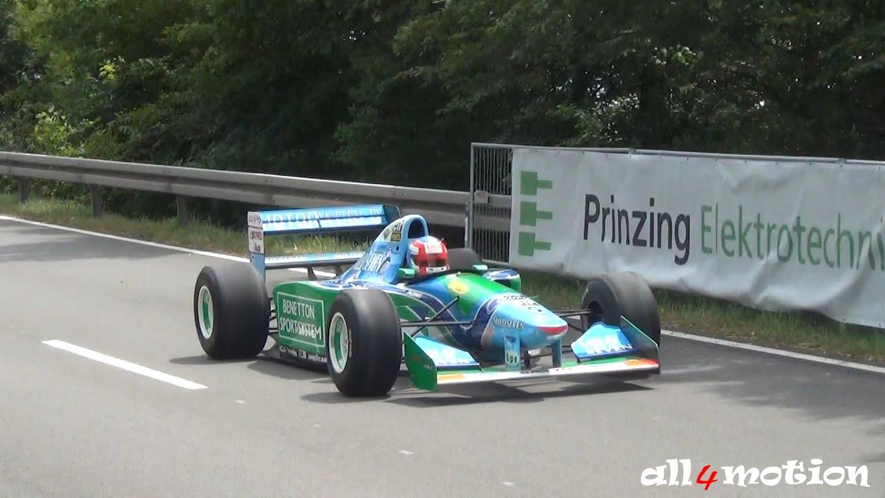 1994 Michael Schumacher Benetton Ford B194 F1 World Champion Car Solitude Revival 2015