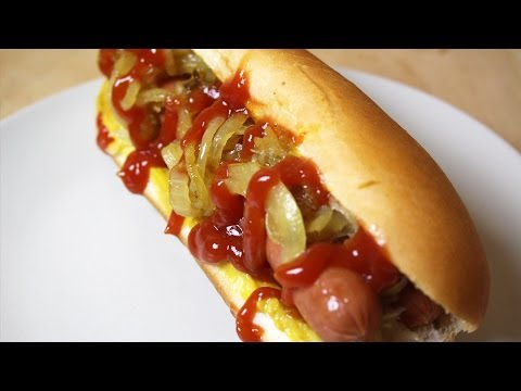 Comment faire un Hot dog New yorkais | FastGoodCuisine
