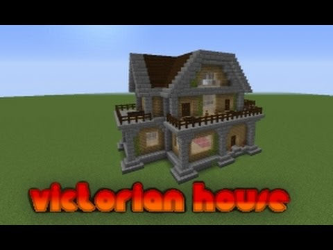 Quick victorian house build simple and easy for mc survival