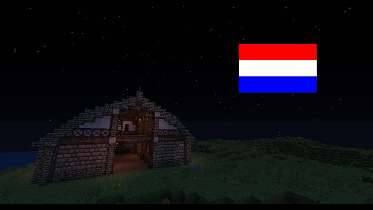 Minecraft - Medieval/barn stable - tutorial (Nederlands ...