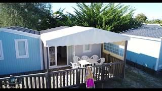 Location d'un mobil-home Cabane du pêcheur avec les campings Campéole