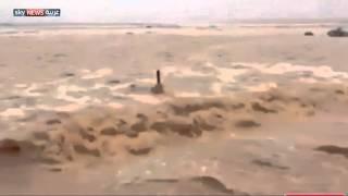 وفاة شخص بتساقط الأمطار في الرياض