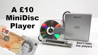 A MiniDisc Player for £10 - Will it work? What's the catch?