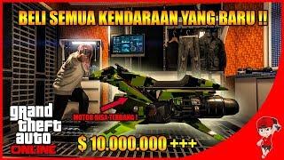 GTA V ONLINE (7) - BELI SEMUA KENDARAAN ADA MOTOR TERBANG & DRONE !!