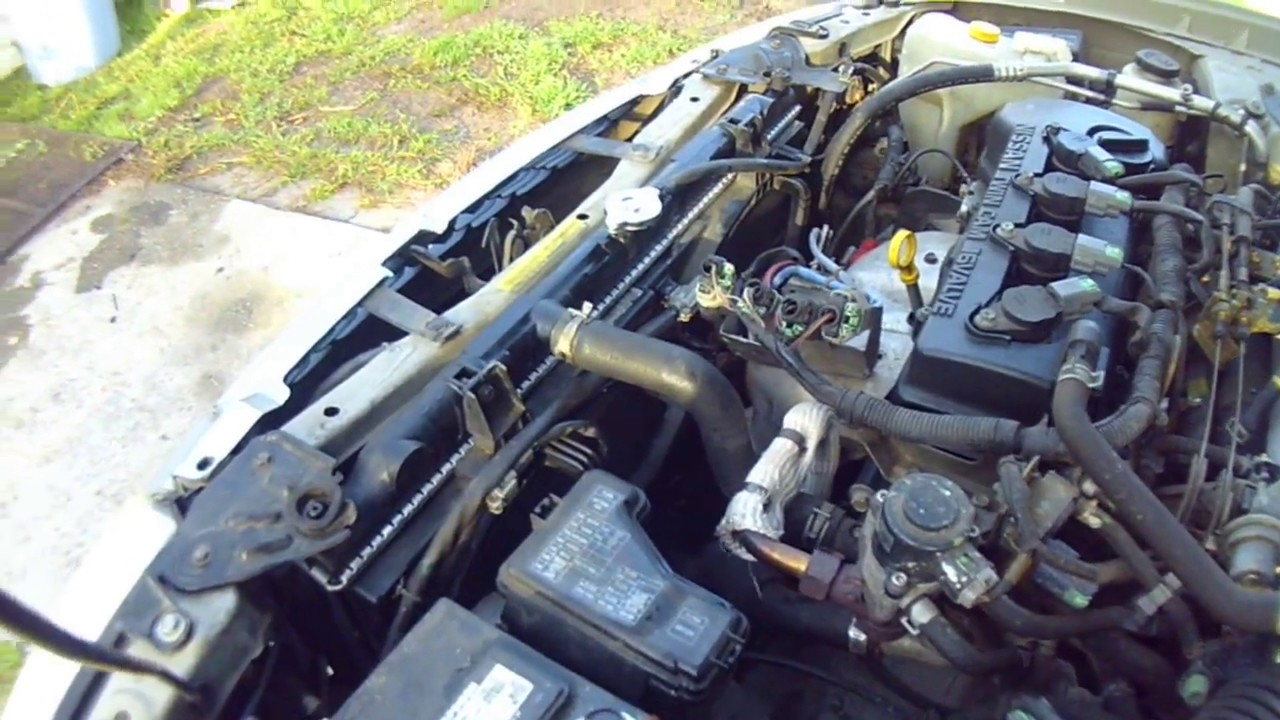hight resolution of how to change a radiator on a 2000 nissan sentra