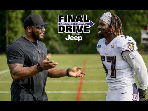 Final Drive: Ray Lewis Visits Practice