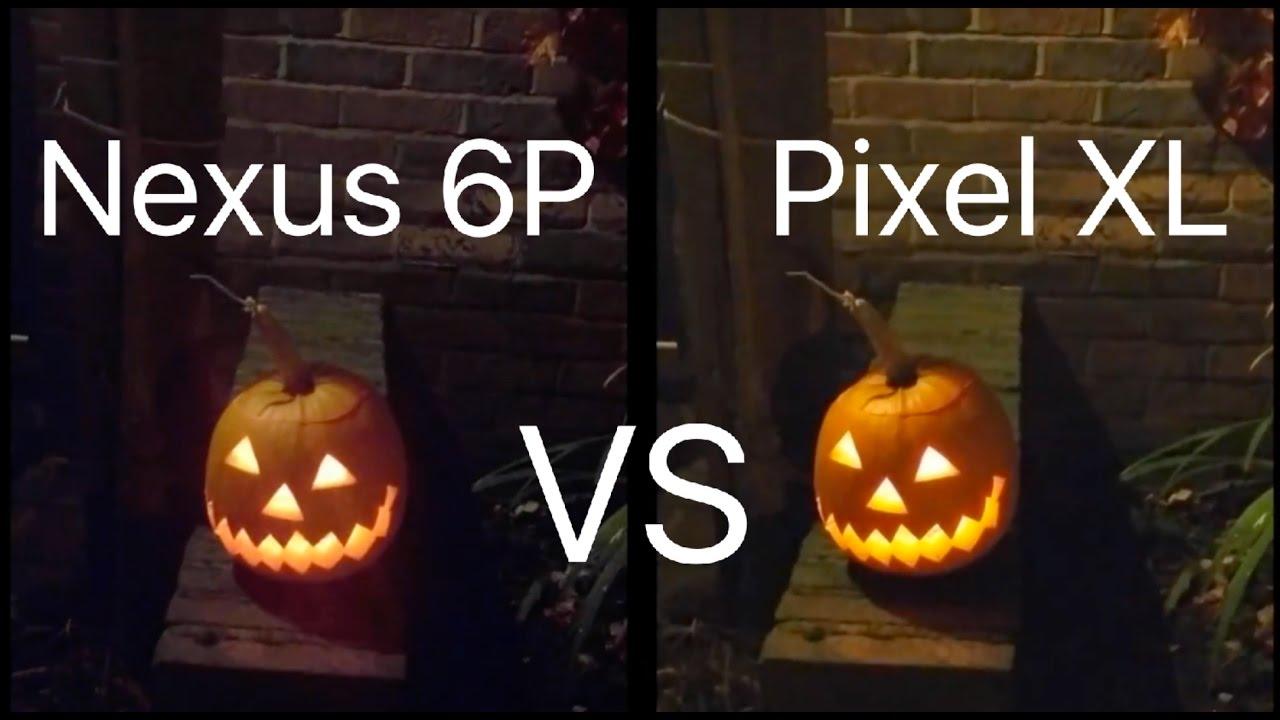 Google Pixel Xl Vs Nexus 6p Camera Test Quot Night Time