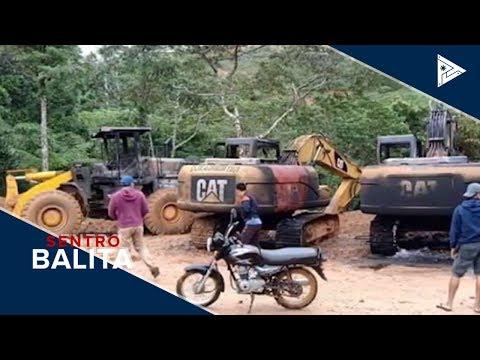 11 heavy equipment sa minahan sa Negros Occidental, sinunog ng NPA