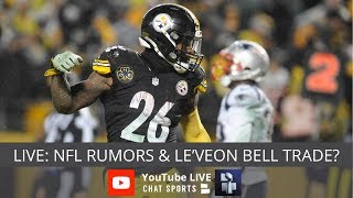 NFL Rumors, Le'Veon Bell Trade, Earl Thomas Trade Rumors, Jimmy Garoppolo Replacements & Dez Bryant