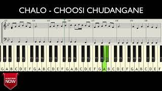 CHALO - CHOOSI CHUDANGANE ( HOW TO PLAY ) MUSIC NOTES