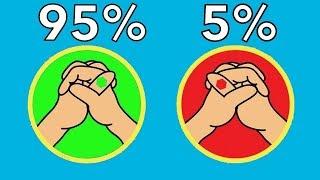 Wie einzigartig bist Du? - 10 Seltene Merkmale des Körpers!