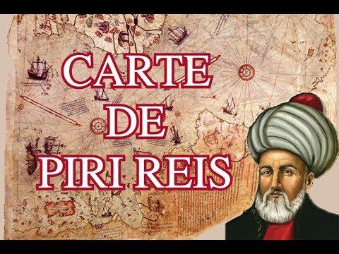 Mystérieuses Cartes Antiques - Piri Reis (1/3)