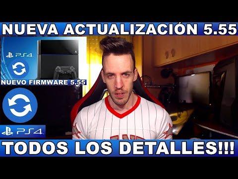 ¡¡¡NUEVA ACTUALIZACIÓN 5.55 PS4!!! - Hardmurdog - Noticias - Sony - Playstation - 2018 - Español