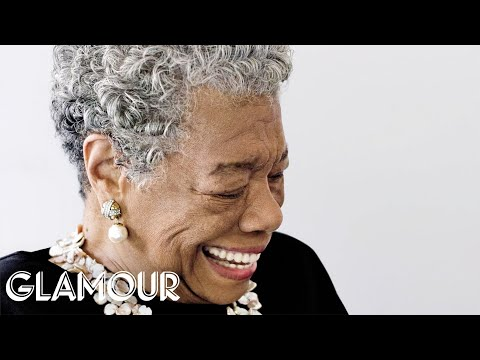 Maya Angelou at 2009 Glamour Women of the Year Awards