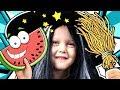 МАЛЕНЬКАЯ ВЕДЬМОЧКА  скупила все игрушки в магазине Заколдовала арбуз в желейный Видео для детей
