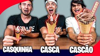CASCA, CASQUINHA OU CASCÃO! - Desafio