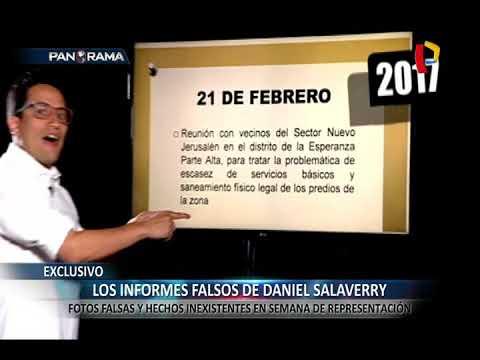 Los informes falsos de Daniel Salaverry en su semana de representación (1/2)