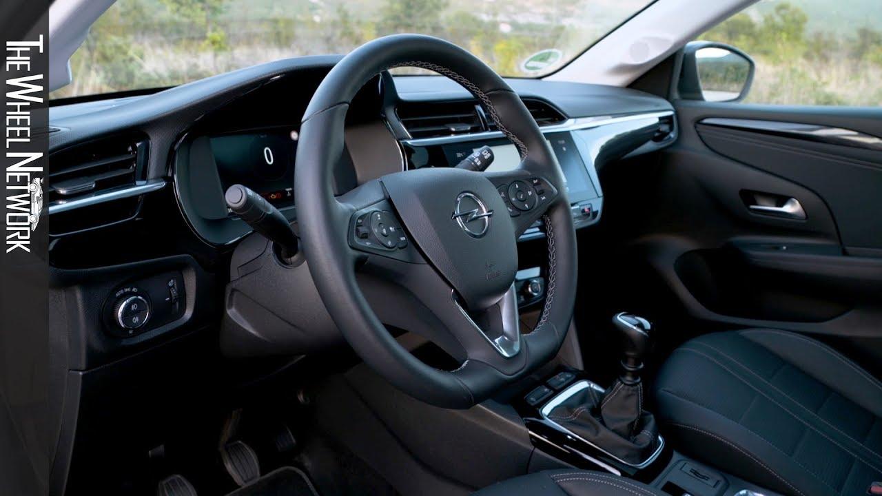 2020 Opel Corsa Elegance Interior Youtube