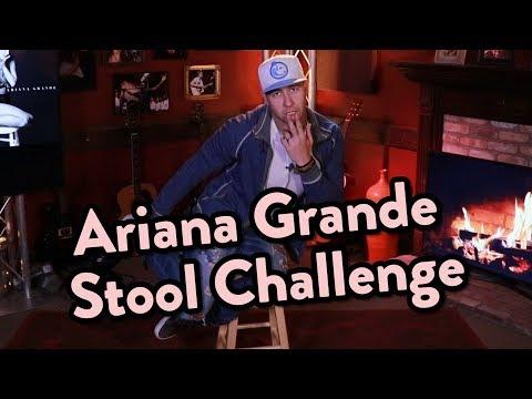 Ariana Grande Stool Challenge | KiddNation