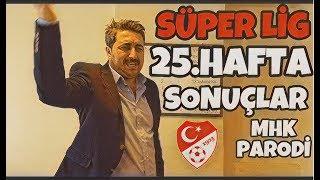 Süper Lig 25.Hafta Sonuçları - Arif Sevimli