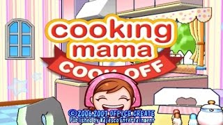 Cooking Mama Cook Off Wii Gameplay