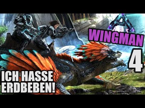 Ich hasse Erdbeben! - ARK WINGMAN ABERRATION - 4 - | Let's Play Deutsch (Speed PvP)