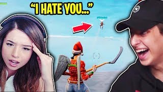 She's Never Playing w/ Me Again After This.. (Fortnite Battle Royale Highlights)