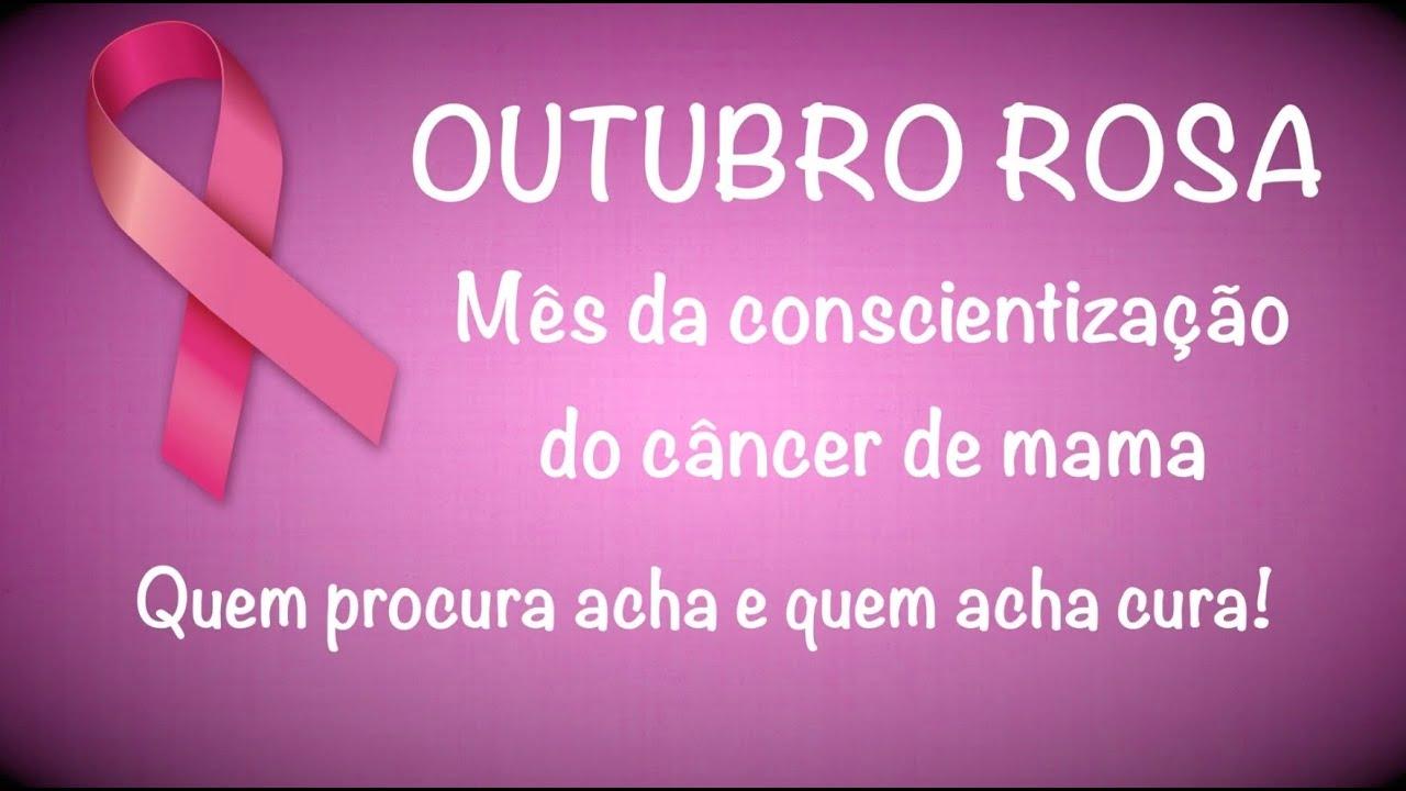 Mês Da Conscientização Do Câncer De Mama