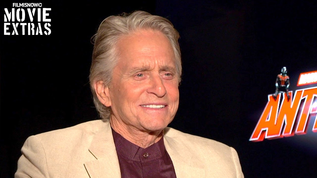ANT-MAN AND THE WASP | Michael Douglas talks about his experience making the movie