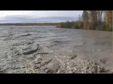 Talkeetna Flood 2012, Talkeetna River