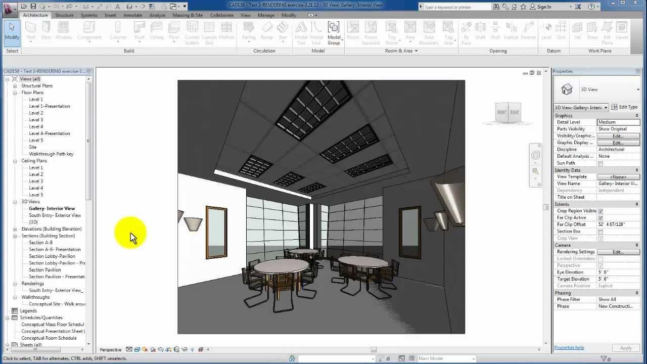 revit tutorials lighting fixtures