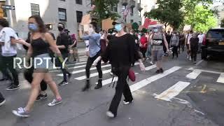 EN VIVO. Otro día de marchas y protestas en Nueva York por la muerte de George Floyd