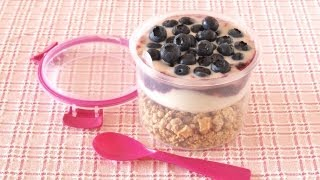 Granola Yogurt Parfait (breakfast To Go) グラノーラ ヨーグルト パフェ - Ochikeron - Create Eat Happy