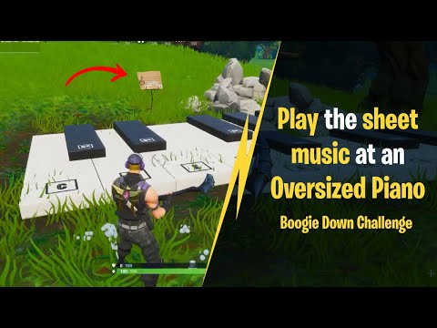 Fortnite Oversized Piano Location (Season 10) – How-to Play