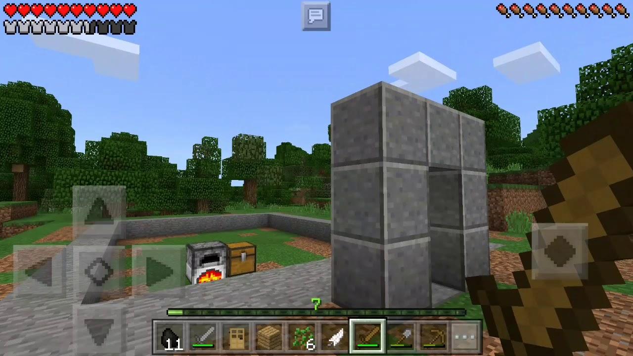 Lets Play Minecraft Pocket Edition Wir Bauen Am YouTube Haus YouTube - Minecraft pocket edition hauser bauen