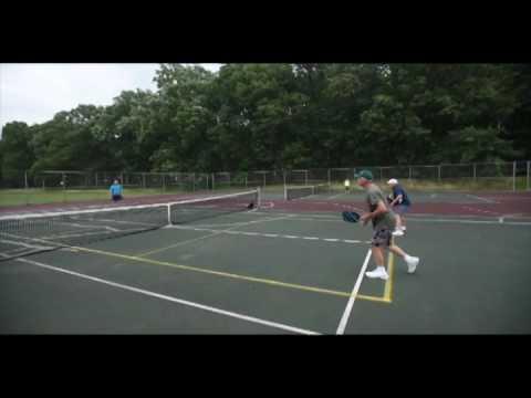 Pickleball game at Ella Sharp Park in Jackson