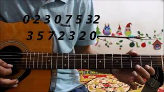 First Lesson On Guitar (  Extreme Beginner's) - After Buying Guitar - Hindi guitar lesson beginners
