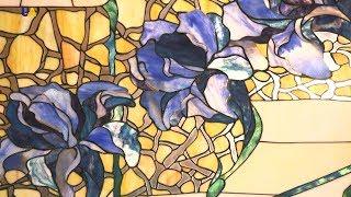 Утонченные витражи в технике Тиффани от Эдуарда Усенко | Мастер дела