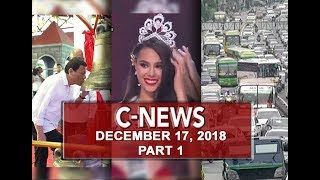 MISS UNIVERSE 2018 Miss Philippines Catriona Gray, kinoronahang Mis...
