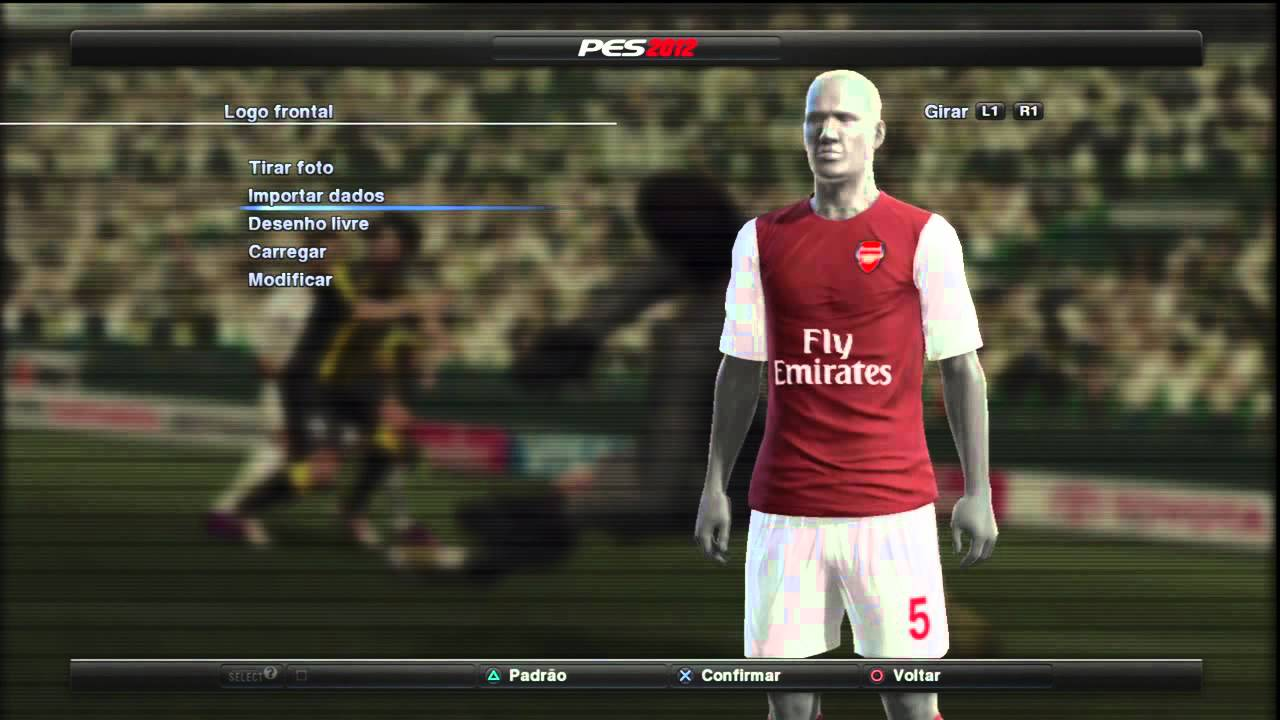 uniforme do chelsea para pes 2012 ps3