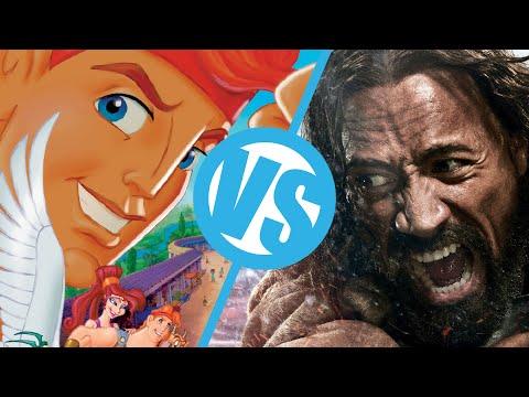 Hercules(2014) VS Disney's Hercules : Movie Feuds ep94