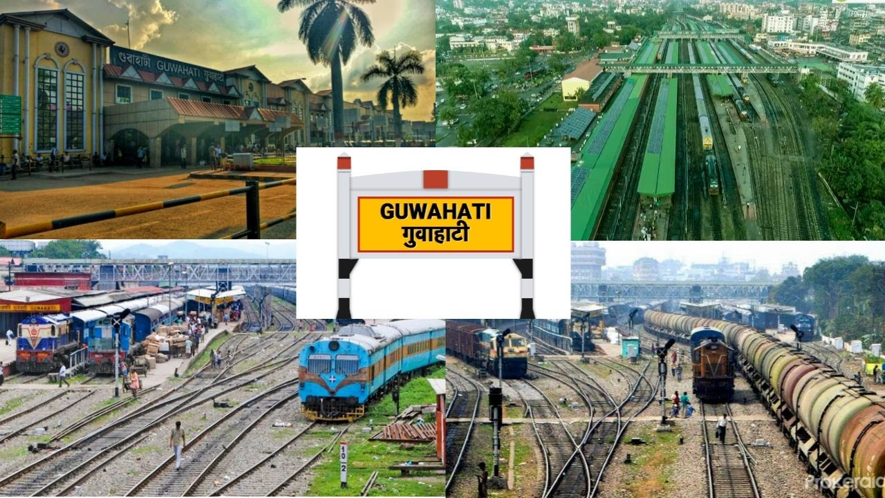 Guwahati Station Review, Rangiya Division, NorthEast ...