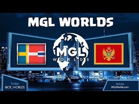 MGL WORLDS SCANDINAVIA vs MONTENEGRO CLASH ROYALE!!