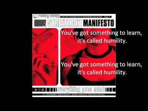 Streetlight Manifesto - Thatll Be The Day