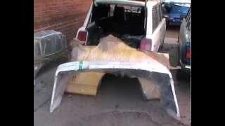 Кузовной ремонт Skyline R34 coupe. #2/10 Обзор запчастей