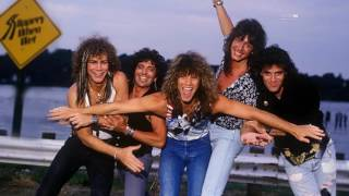 Bon Jovi Slippery When Wet Pre Production Demos New Jersey 1986