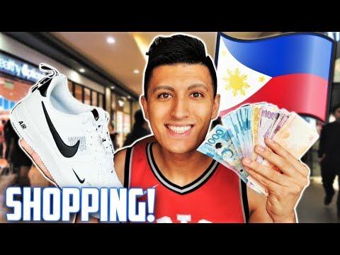 SNEAKER SHOPPING IN CEBU, PHILIPPINES! (SM MALL VLOG!)