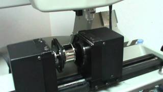 Engraving A Cylindrical Napkin Ring With A Vision Max Pro Engraving Machine