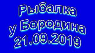 Рыбалка у Бородина 21 09 2019 4K